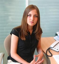 Надежда Латкина, старший специалист отдела поиска и подбора персонала Уральского Банка Реконструкции и Развития