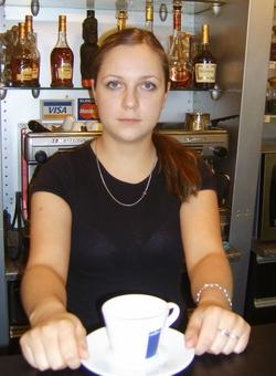Анна Мичурова, бариста кофейни «Manhattan»
