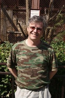 Алексей Суслов, заведующий секции обезьян Екатеринбургского зоопарка
