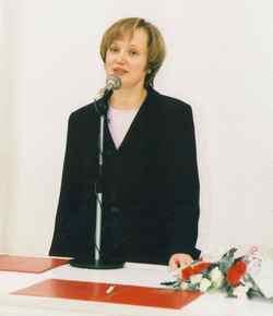 Галина Степановна Воробьева, специалист отдела записи актов гражданского состояния