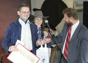 Вручение дипломов победителям премии «Золотая акула»
