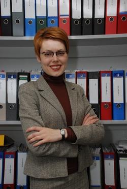 """Директору по управлению персоналом Концерна """"Калина"""" Наталья Десятник"""